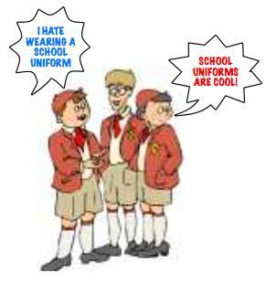Argumentive essay on enforced uniforms